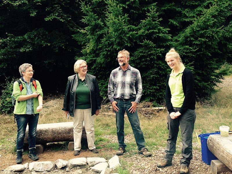Die Guten: unsere Betreuer am Trekkingcamp Ellerspring (Foto: Hans-Joachim Schneider)