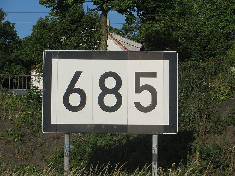 Hier steht ein Bild mit dem Titel: Was Du schon immer mal fragen wolltest: Was heißt eigentlich 685? (Foto: Hans-Jaochim Schneider)