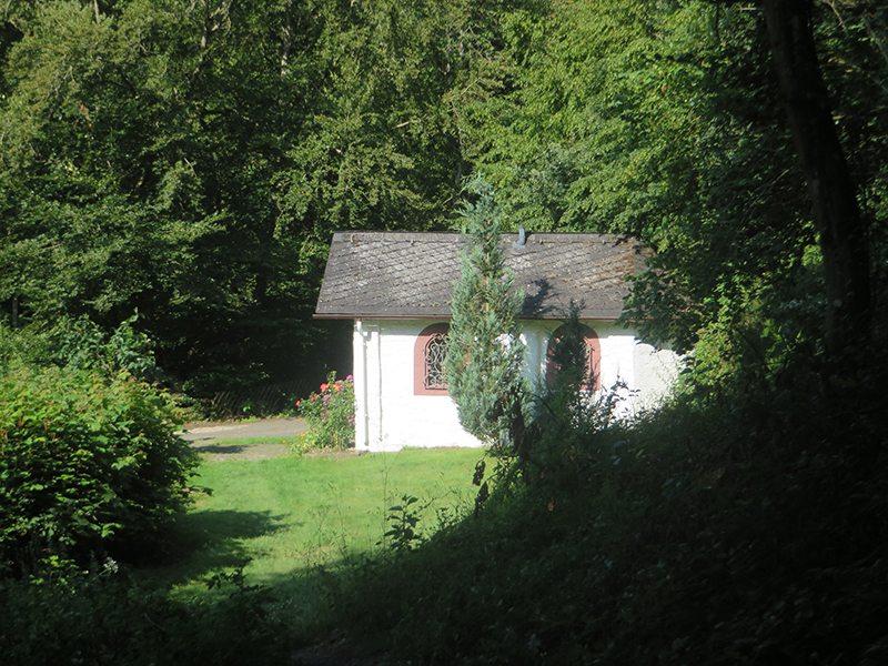 Die kleine Kapelle auf dem Gelände der Baunhöller Mühle (Foto: Hans-Joachim Schneider)