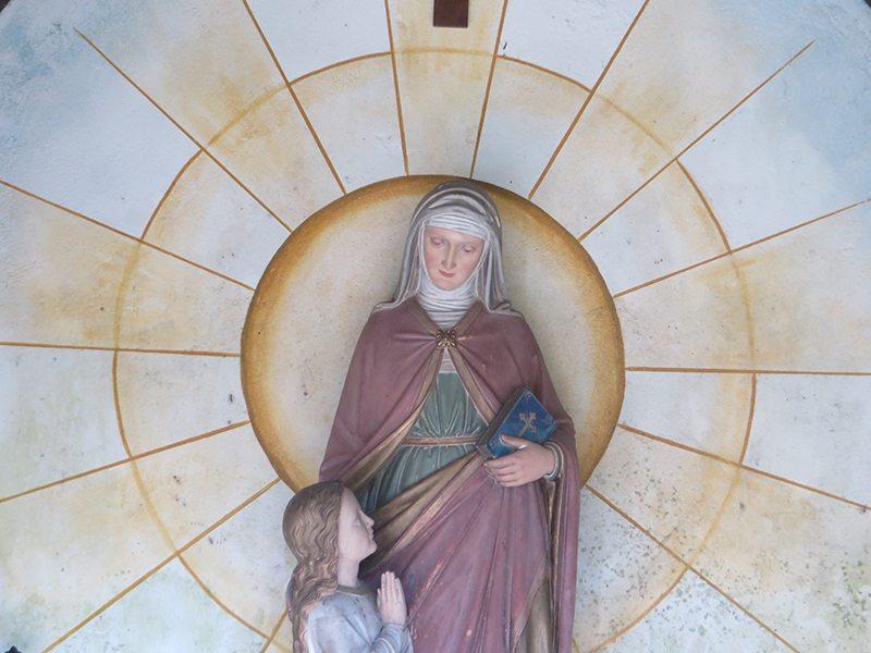 Die Marienfigur in der Maria-Anna-Kapelle (Foto: Hans-Joachim Schneider)