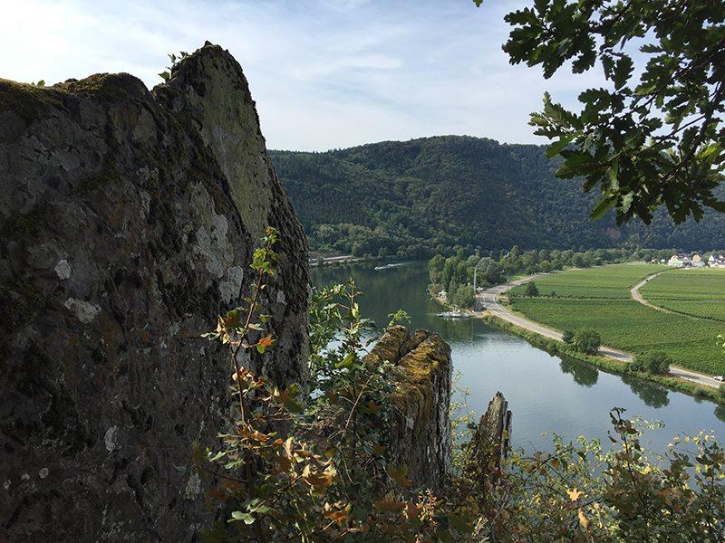 Felsklippe, Moselsteig, PFad, Steig, Aussicht, Mosel, Weinberge, Fähre, Flussufer
