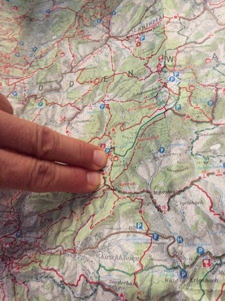 Karte, Wanderkarte, Ausmessen, Planen, Megamarsch-Training