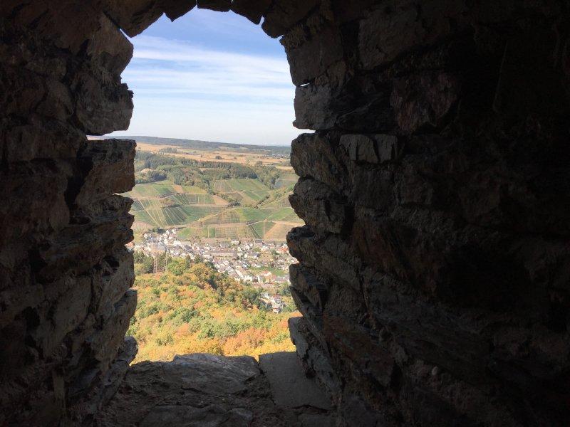 Krönung dieser AhrSteig-Etappe: die Besteigung des Krausbergturms