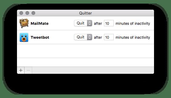 Vad jag använder: Quitter