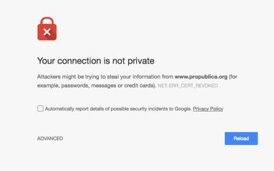 Din webbläsare är inte hackad – åtminstone inte den här gången