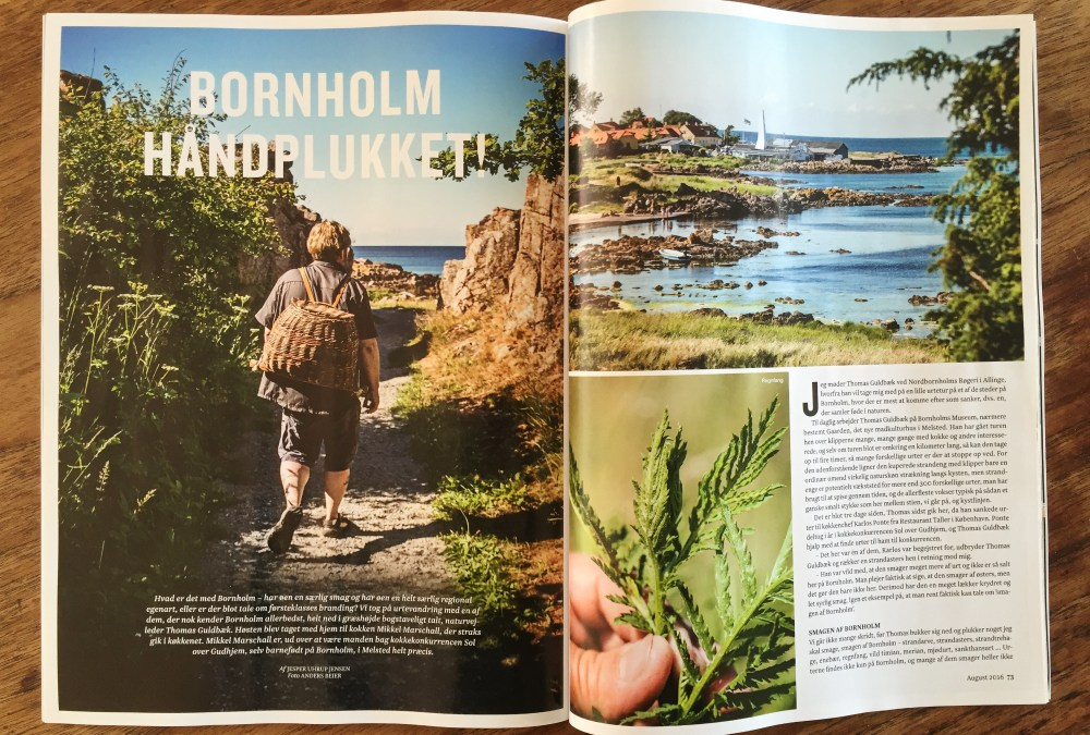 Stories from Bornholm for Gastro magazine