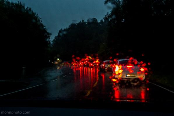 Rush in Rain