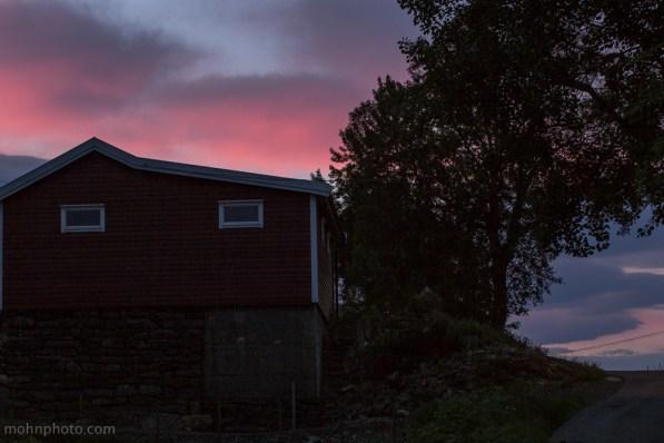 Rosa Solnedgang