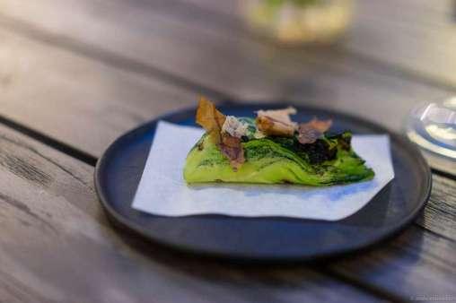 Langoustine, cabbage, & bonito flakes