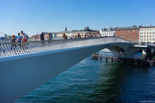 The brand new, and finally ready, Inderhavnsbroen