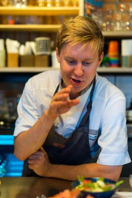 """Head chef Karl Torbjørn """"Karli"""" Andersen."""