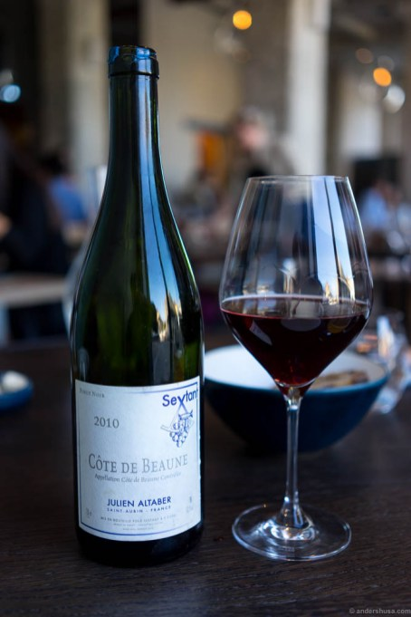 2010 Julien Altaber, Côte de Beaune, Bourgogne, France