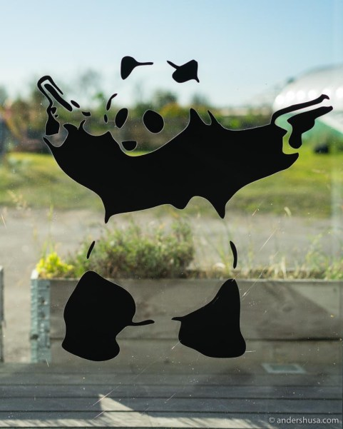 The Banksy panda.