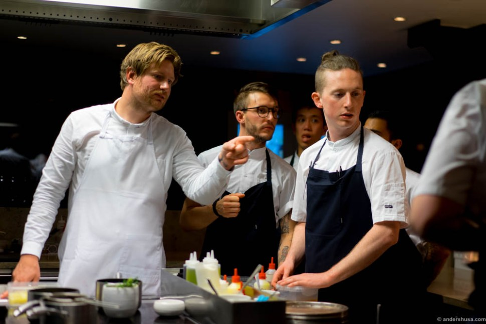 Team Maaemo was present for the event