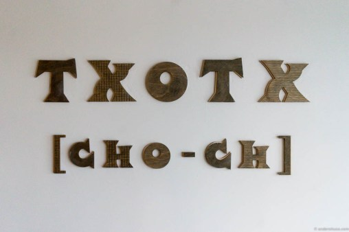 Txotx is pronounced Cho-ch