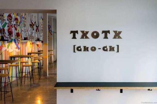 Txotx is pronounced Cho-ch