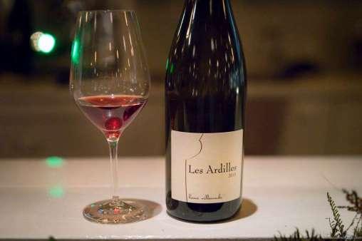 """2015 """"Les Ardilles,"""" Hervé Villemade, 85% Pinot Noir - 15 % Gamay"""