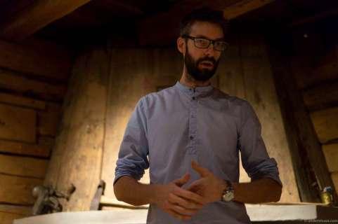 Our sommelier and host: Jonas Sandberg