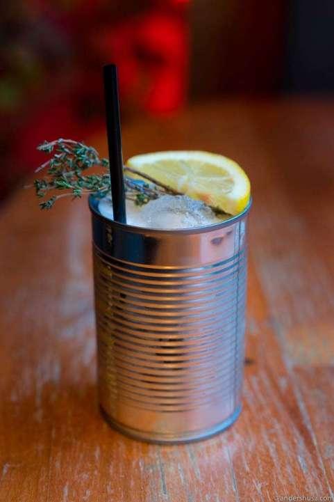 Gin Garden with thyme & lemongrass