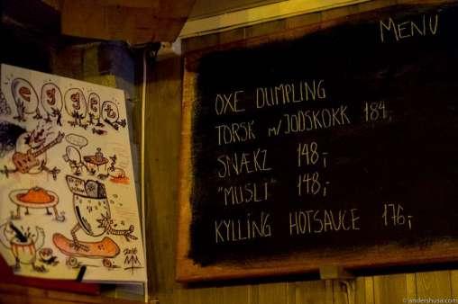 Don't trust the menu