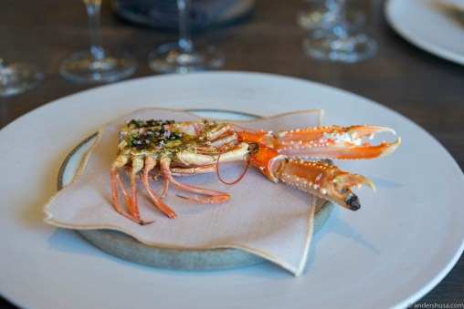 The best part of the langoustine: the brainz
