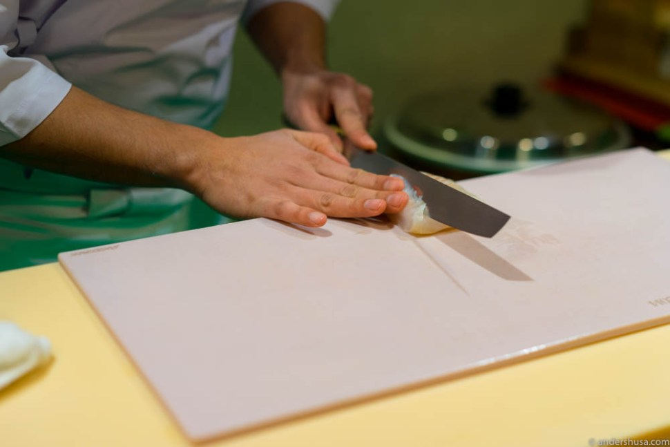 Precision knife work