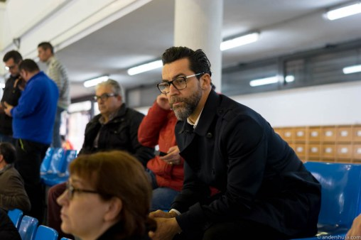 Quique Dacosta at the fish auction in Dénia