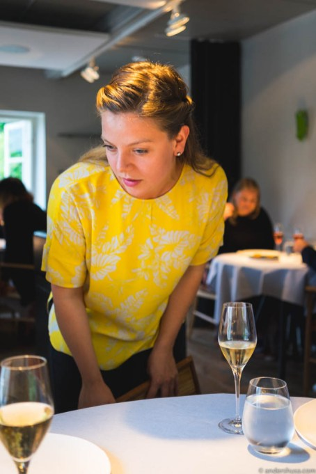 Ellinor Lindblom – front of house manager and sommelier