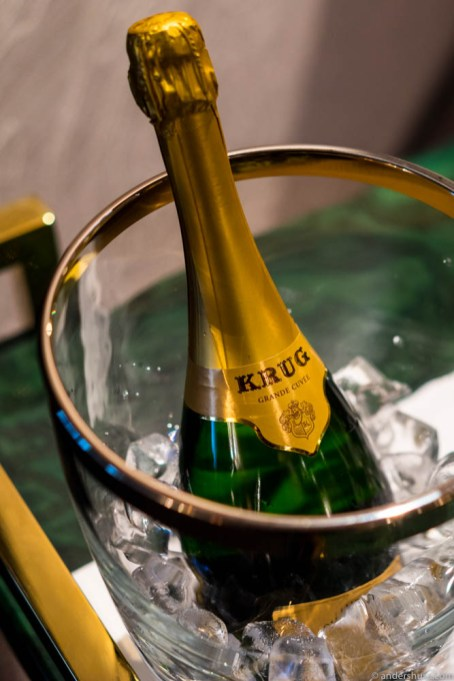Some more Krug, Sir?
