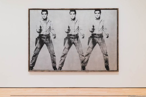 Andy Warhol – Triple Elvis
