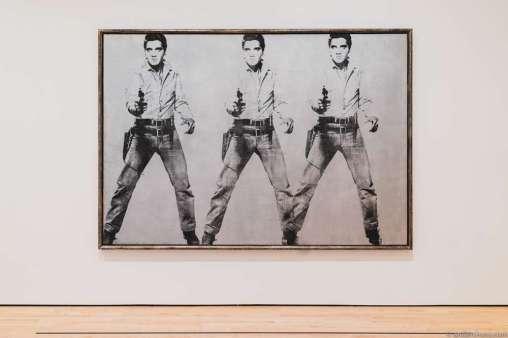 Andy Warhol – Triple Elvis