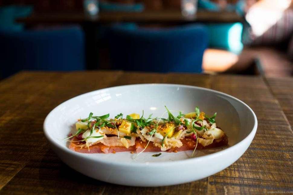 Tiradito at Aymara – the best Latin American restaurant in town