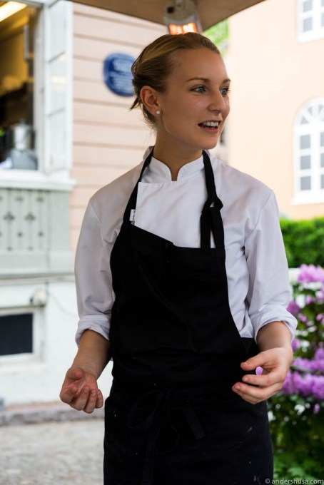 Head chef Lene Kjøde