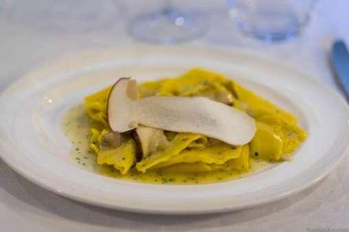 Primi: Porcini mushroom pasta