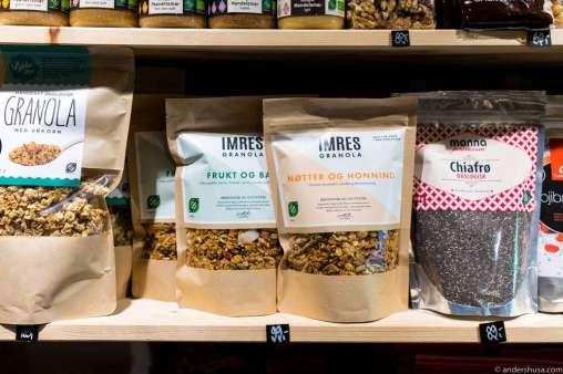 Imres Granola is the best granola!