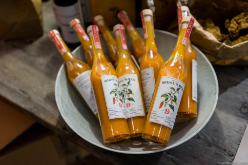 Midsummer fermented hot sauce. The Norwegian Tabasco