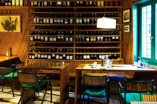Interior of La Zucca