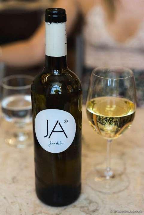 José Avillez' own white wine