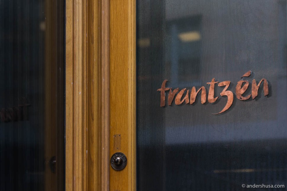 We visited Frantzén on the first official day of opening – September 6th