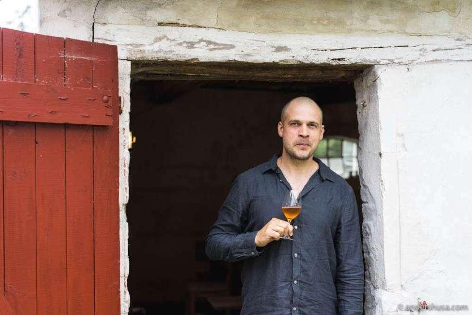 Winemaker Daniel Milan