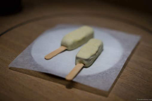 Stilton and chocolate ice cream