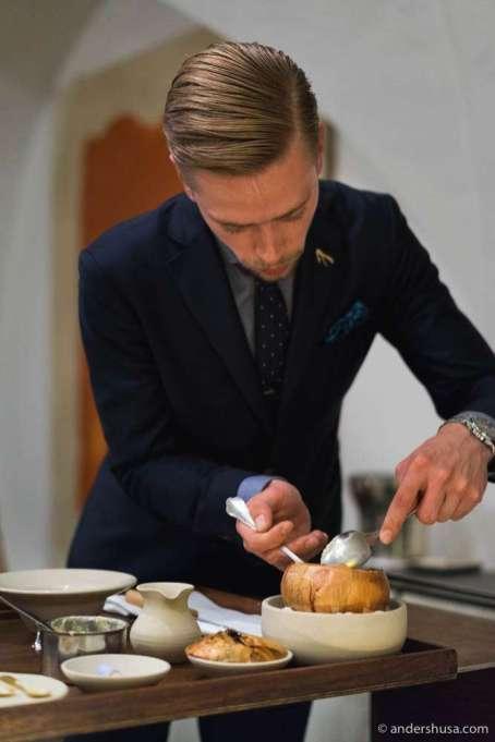 Restaurant manager Aleks Magnus Møller
