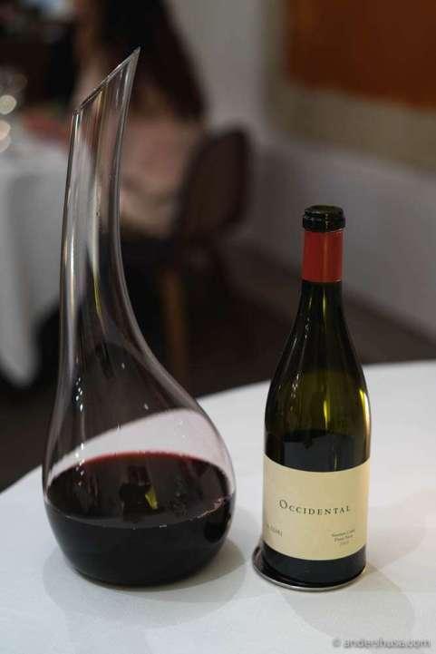 2014 Pinot Noir, Occidental Vineyards, Sonoma Coast, California, USA