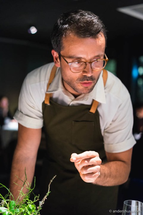 Chef Christian Puglisi of restaurant Relæ