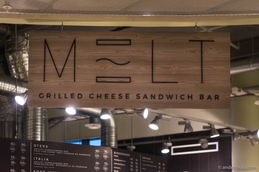 Melt – Grilled Cheese Sandwich Bar