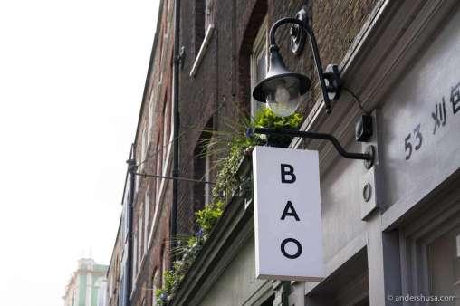 Bao in Soho