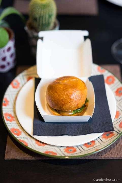 Emilia Burger by Massimo Bottura