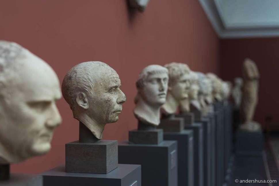 Glyptoteket Art Musem in Copenhagen