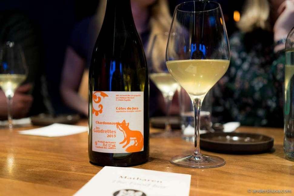 Annie et Philippe Bornard, Les Gaudrettes, Cotes du Jura, Chardonnay