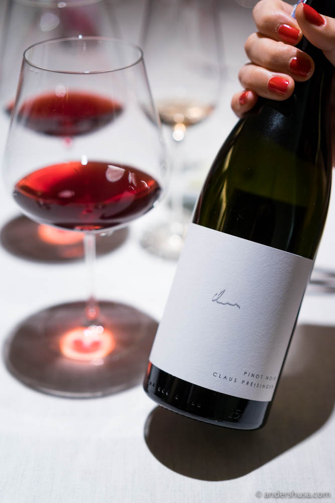 Claus Preisinger, Pinot Noir